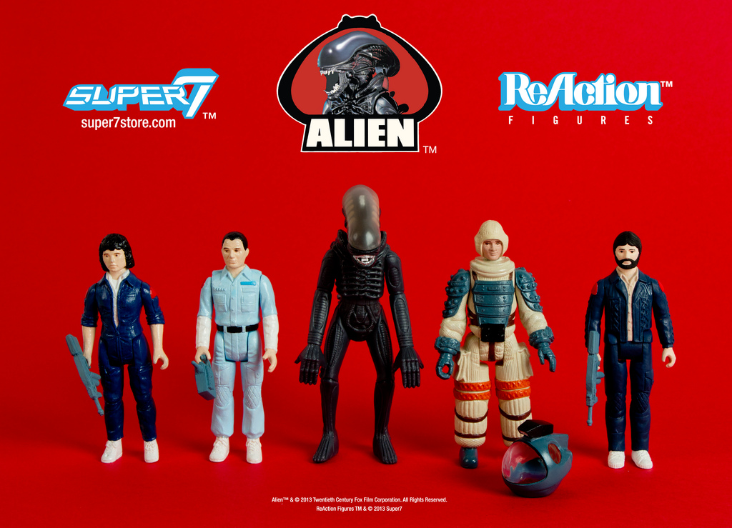 ALIEN REACTION FIGURE PREORDERS OPEN NOW!