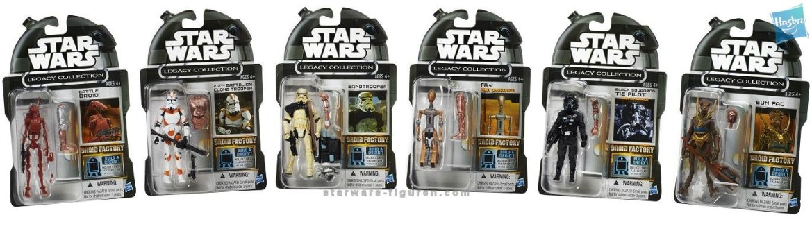 Amazon.com Exclusive Droid Factory Carded Images!