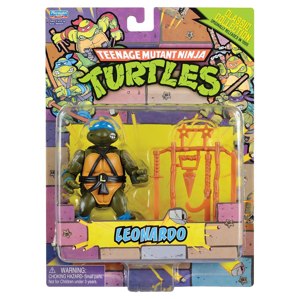 Teenage Mutant Ninja Turtles Classic Collection Figures Exclusive 1988 Retro