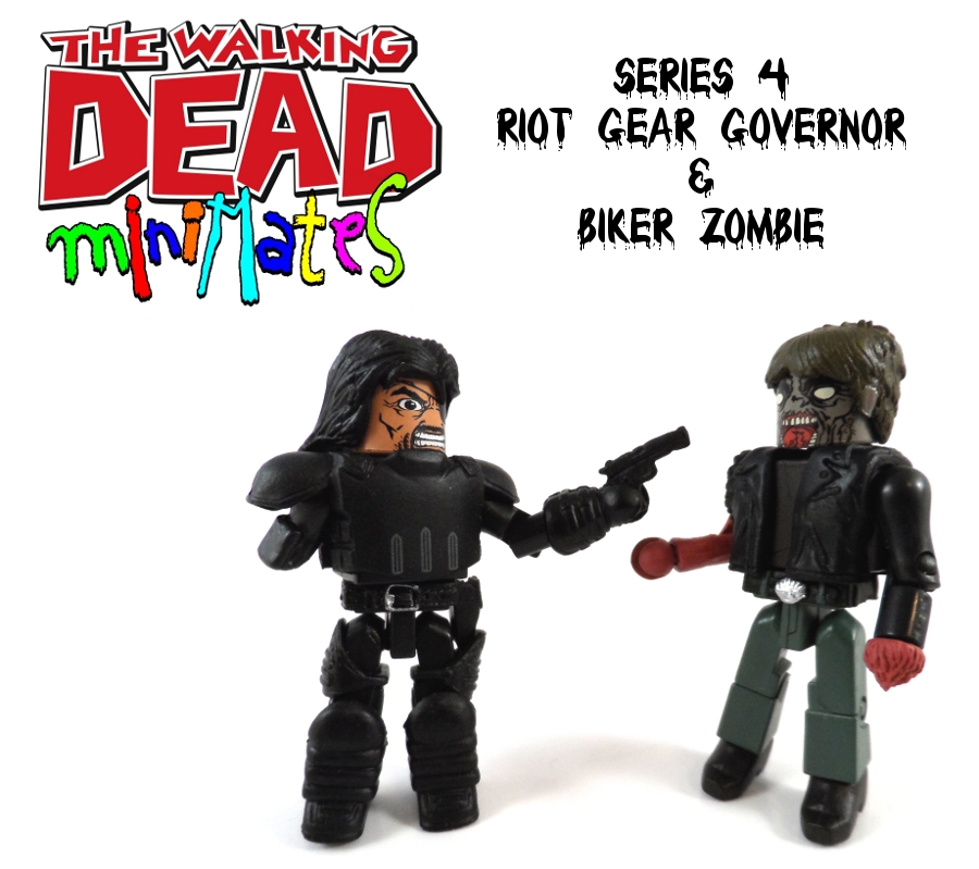 Minimates Riot Gear Governor & Biker Zombie Review