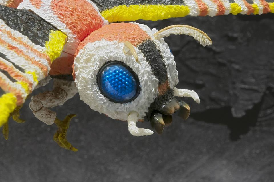SH MonsterArts Mothra To Be Released!