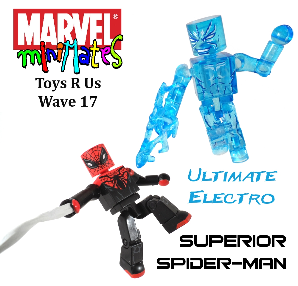 Marvel Minimates TRU Wave 17 Superior Spiderman & Ult. Electro