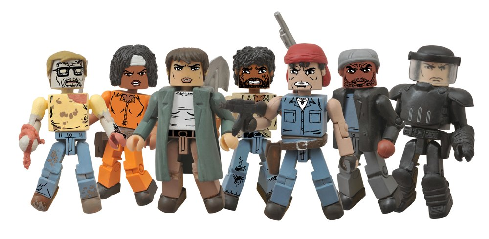 New in Previews: The Walking Dead Minimates, Batman's Robin and More!