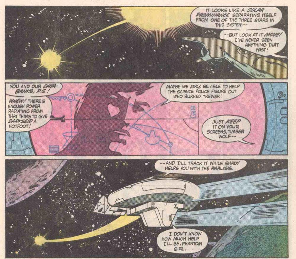 Reviews of Old Comics: Legion of Super-Heroes #307