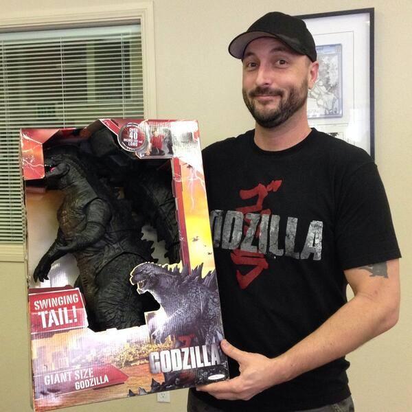 Giant Size 2014 Godzilla Revealed!