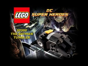 Lego The Batman Tumbler 09 Title