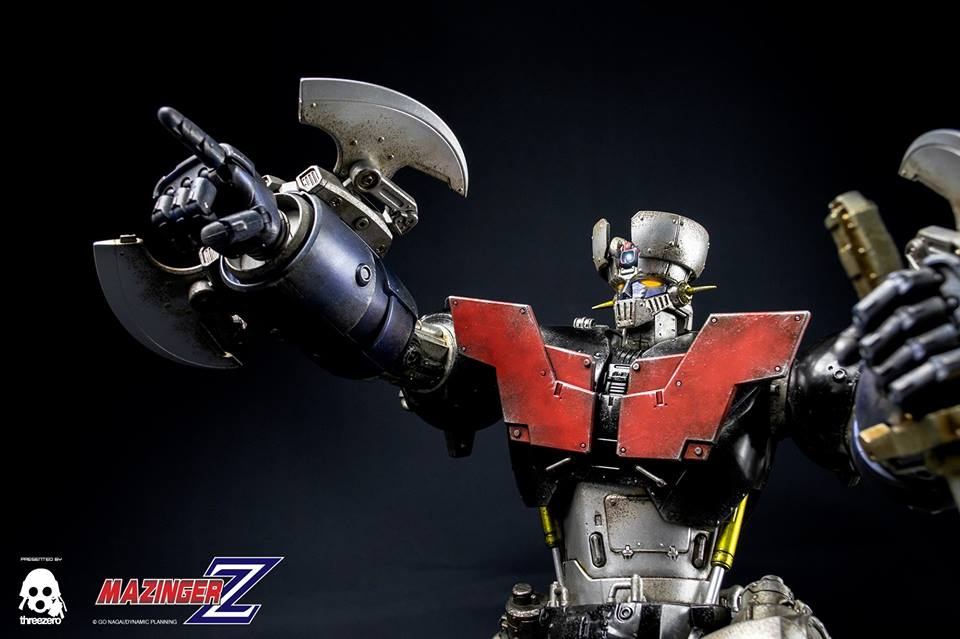 Mazinger Z – full reveal!