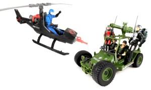 GI Joe 50 12 Vehicles