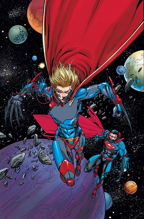 """DC Comics Reveals Final Batch Of """"FUTURES END"""" 3-D MOTION COVERS"""