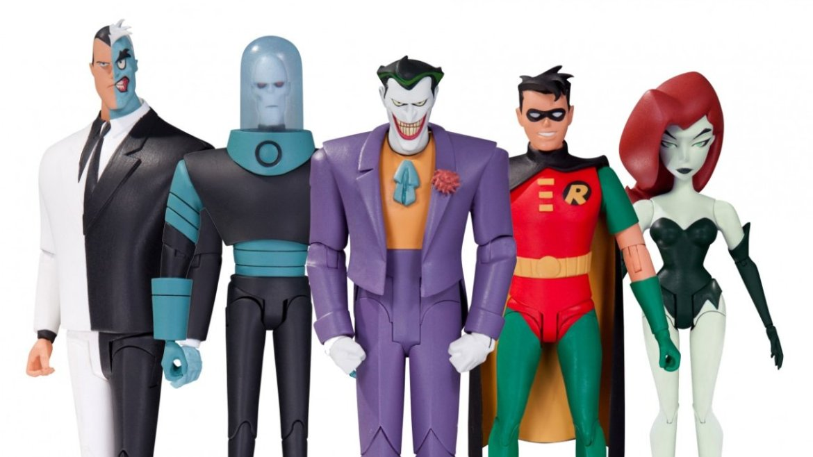 New DC Collectibles Batman: The Animated Figures Revealed