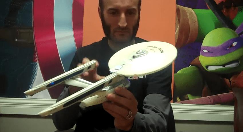 Diamond Select Toys Update: Star Trek Wrath of Khan Enterprise