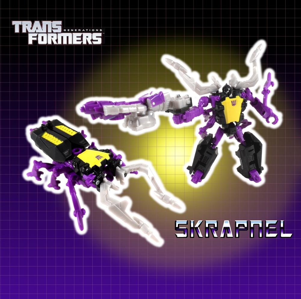 Transformers Generations Skrapnel and Reflector