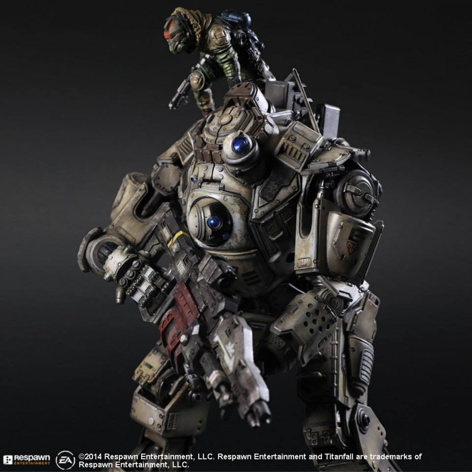 Play Arts Kai Atlas from Titanfall Official Images