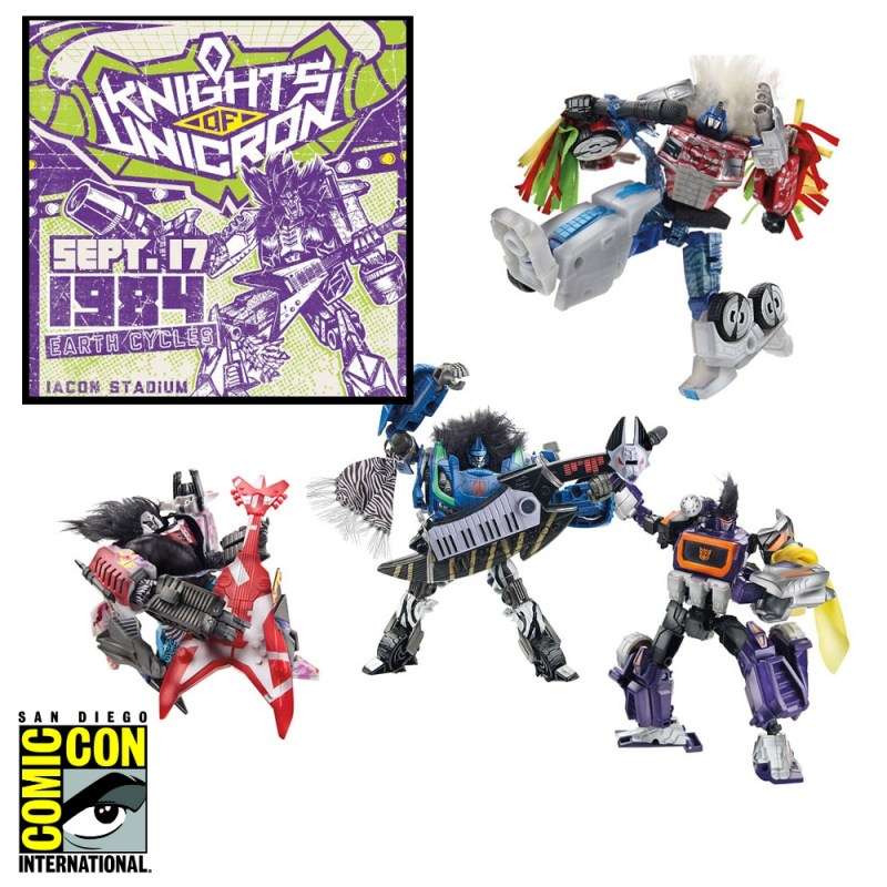 Transformers SDCC 2014 Reveal: Knights of Unicron ...