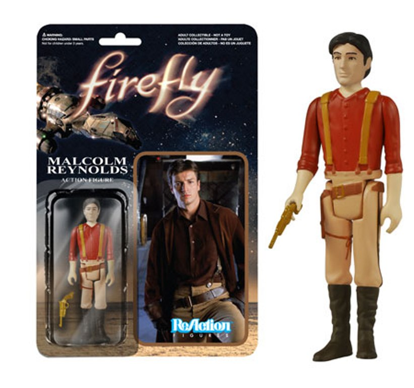 Kratos and Firefly ReAction Figures