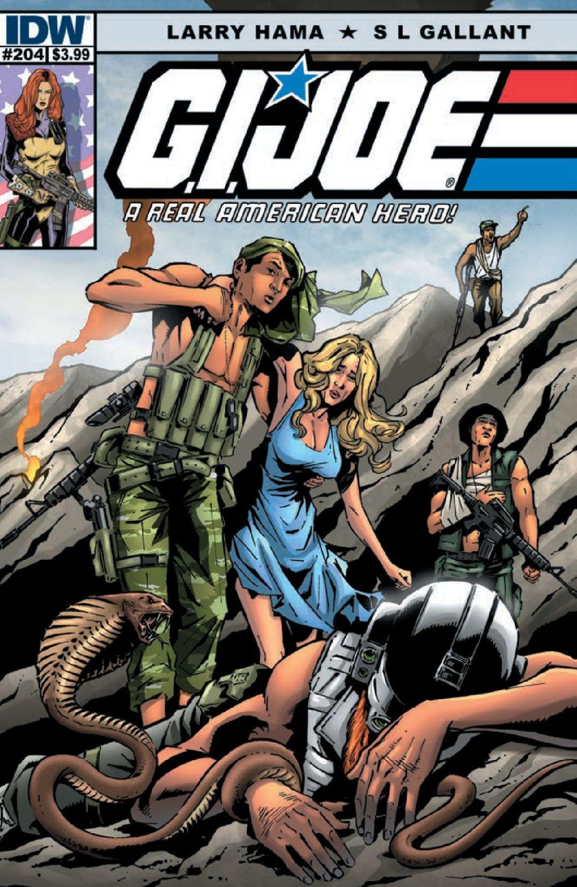 G.I. Joe A Real American Hero #204 Preview