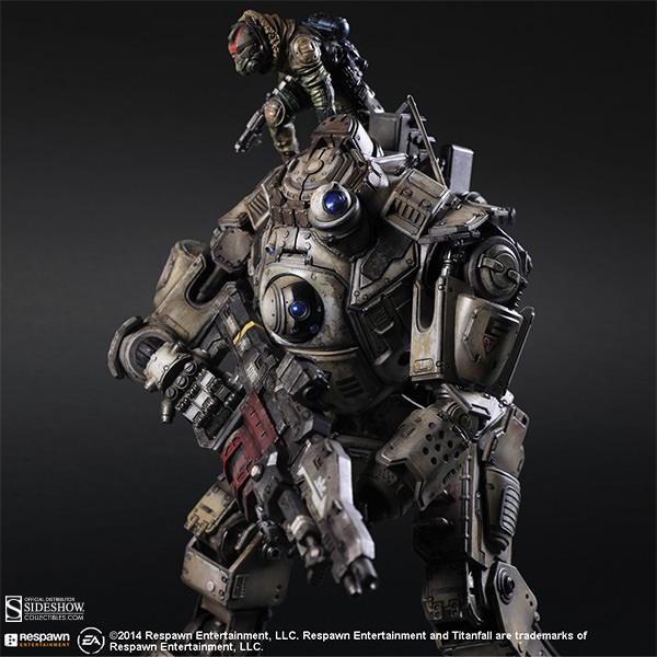 New Titanfall Atlas Play Arts-Kai Figure Images