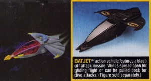 Batman Vehicle Batjet 01