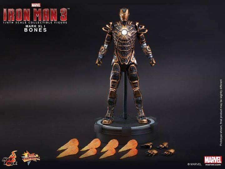 Iron Man 3 16th Scale Bones Mark Xli Collectible Figure