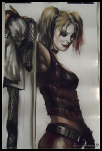 July Loot Crate 05 Harley Quinn Poster