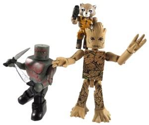 Drax Groot Minimates 02 Action