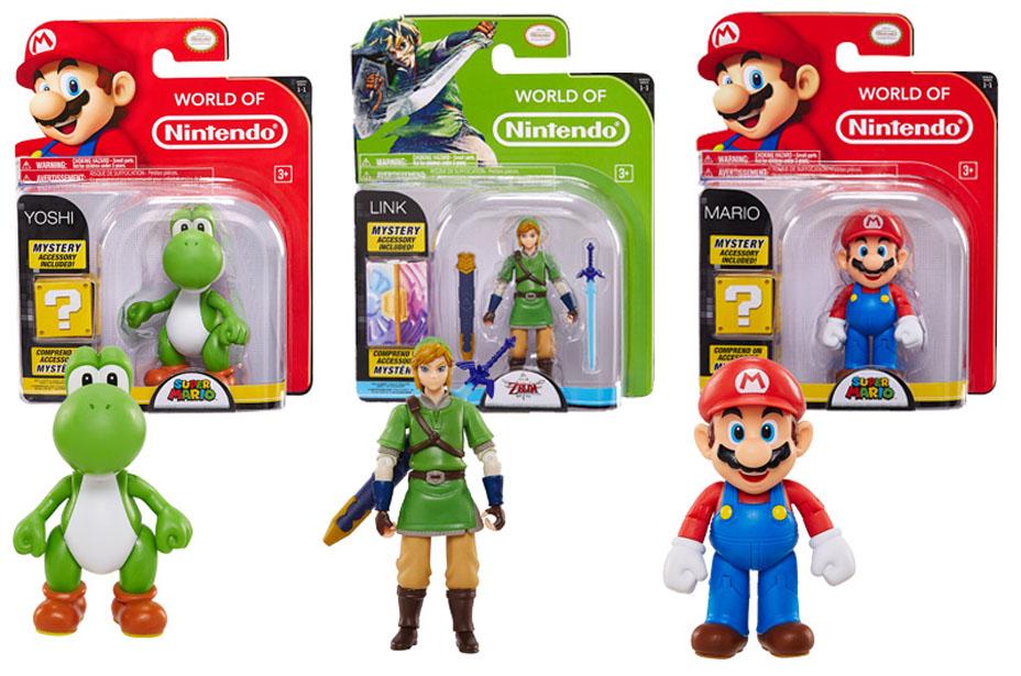Jakks Pacific Set to Release Nintendo Articulated Figures!!