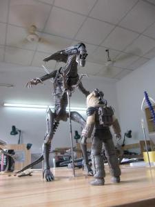 NECA-Alien-Queen-Behind-The-Scenes