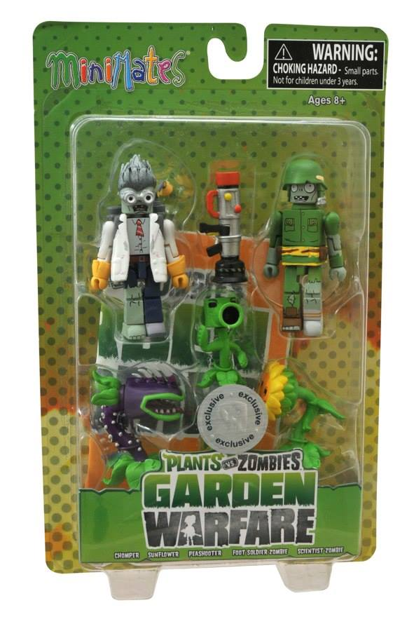 Plants Vs. Zombies: Garden Warfare Minimates Series 1and 2!!