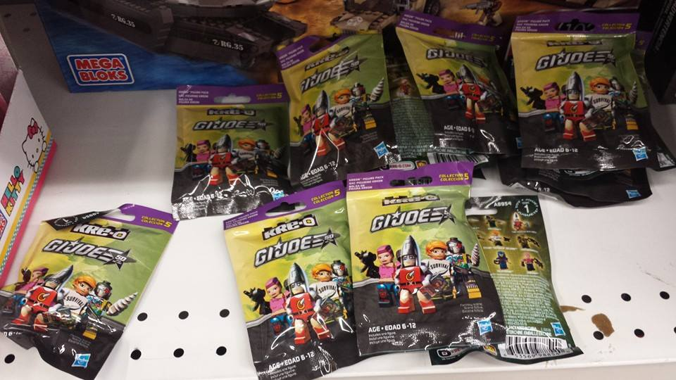 G.I. Joe Kre-O Wave 5 Single Figures Spotted at Retail