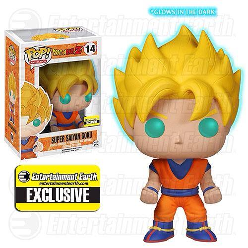 Dragon Ball Z Glow-in-the-Dark Super Saiyan Goku Pop!