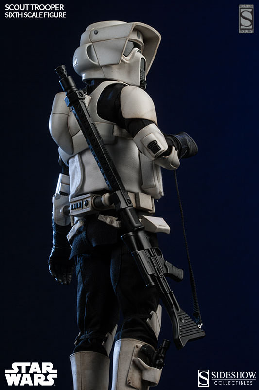 Star Wars Scout Trooper Sixth Scale Figure By Sideshow