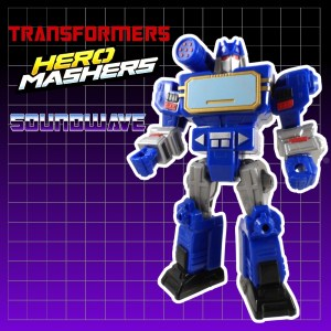 Transformers Mashers Soundwave 14 Title