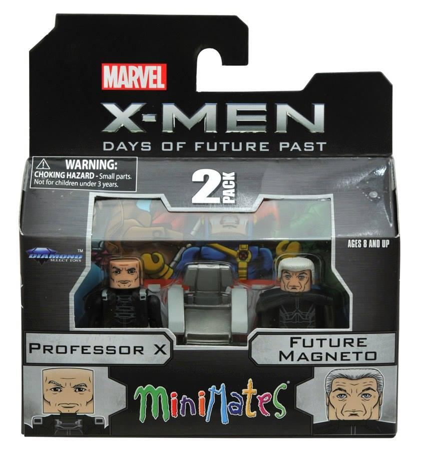 Future Past Movie Young Magneto /& Mystique Marvel Minimates Series 58 X-Men