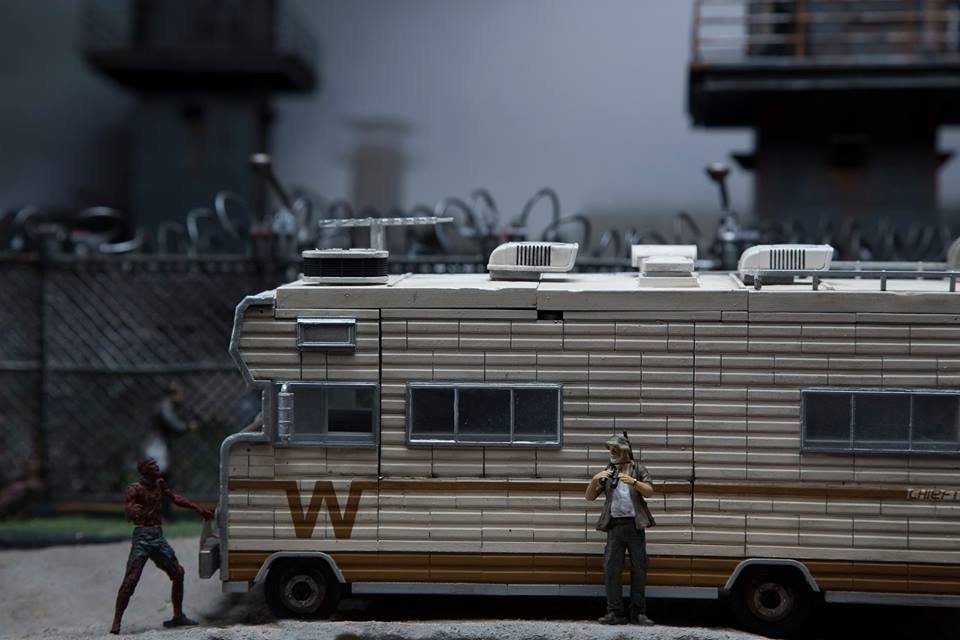 The Walking Dead WINNEBAGO Building Block Set From McFarlane Toys!