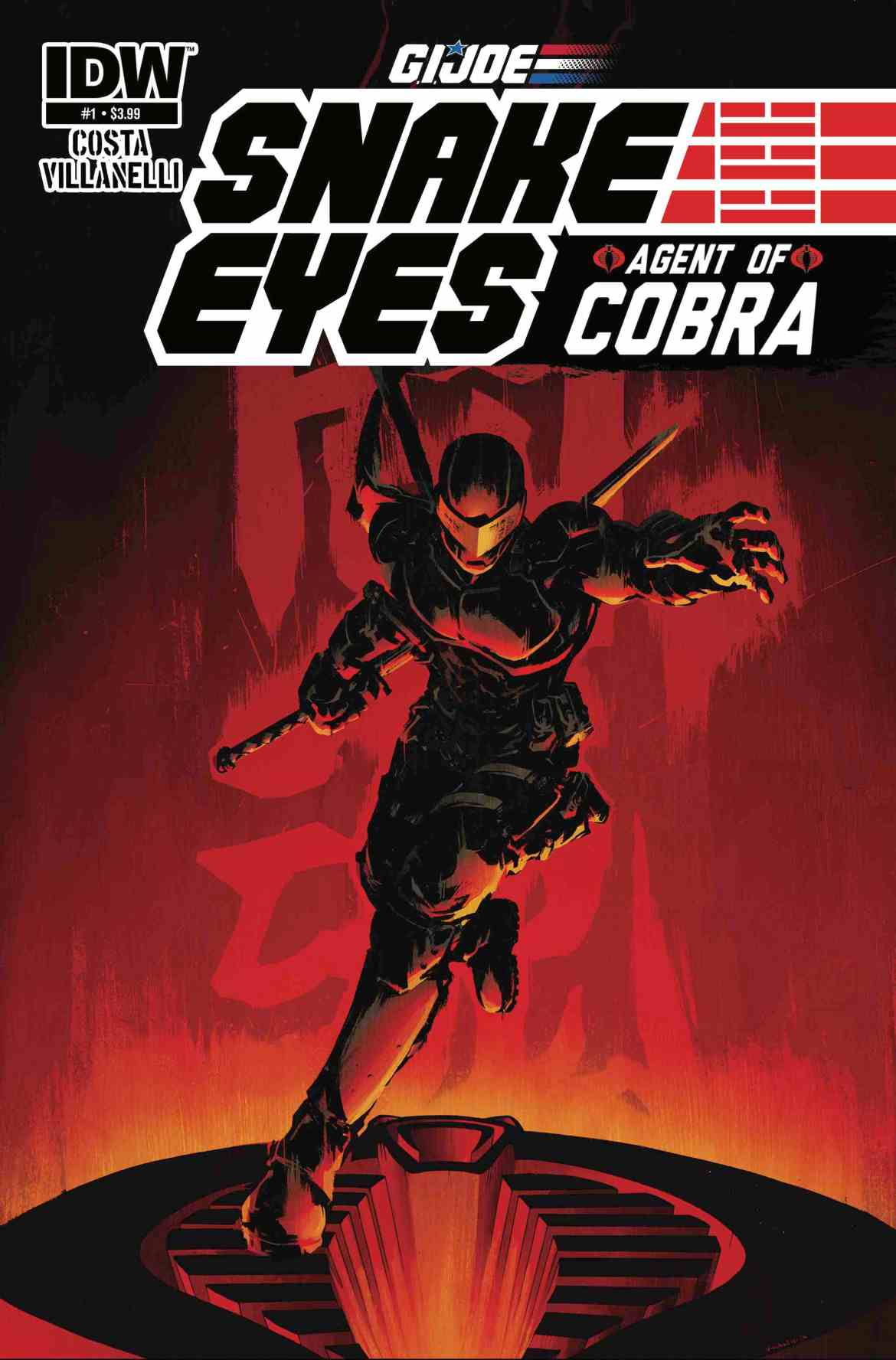 G.I. JOE: Snake Eyes: Agent of COBRA! Coming In January 2015!