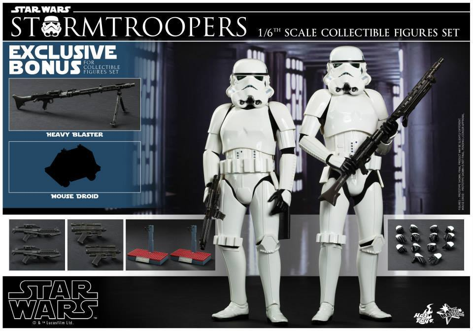 Star Wars Episode Iv 1 6th Scale Stormtroopers Needless Essentials Online
