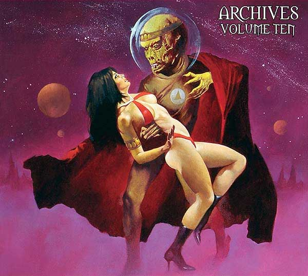 Review: Vampirella Archives Volume 10