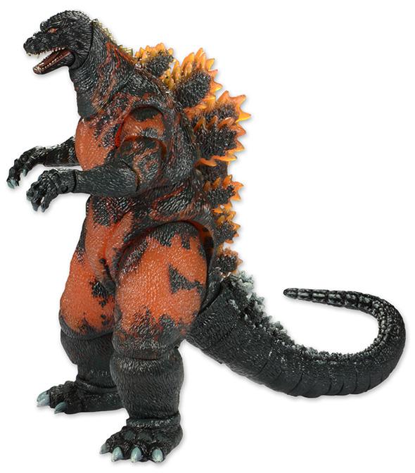 Godzilla Classic 1995 Burning Godzilla Revealed!