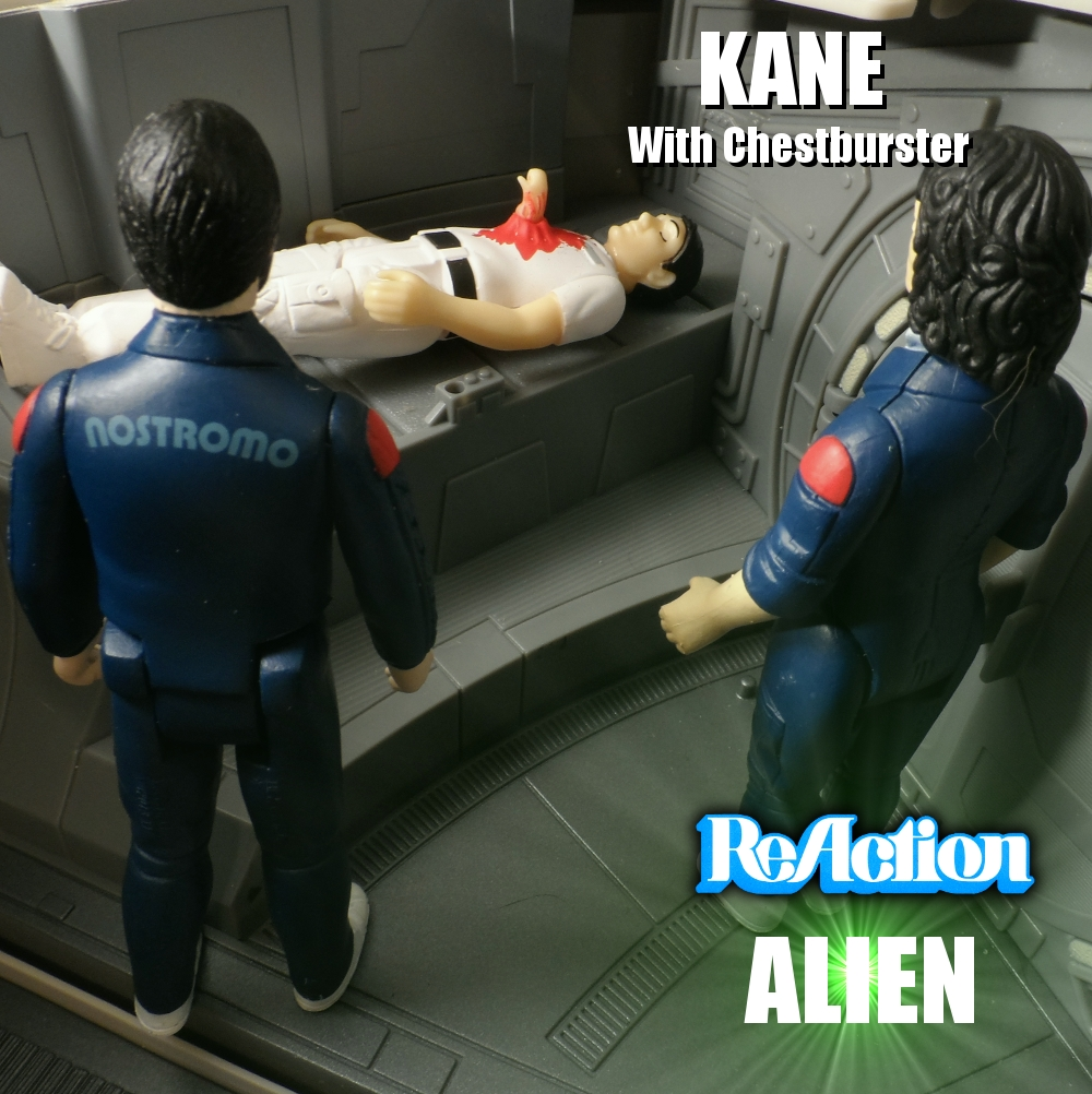 Reaction Alien Kane with Chestburster Review