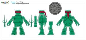 Teenage Mutant Ninja Turtles Minimates (11)