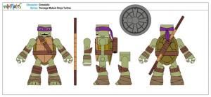 Teenage Mutant Ninja Turtles Minimates (4)