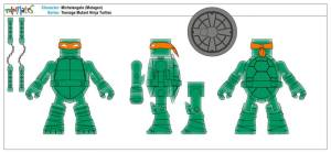 Teenage Mutant Ninja Turtles Minimates (9)