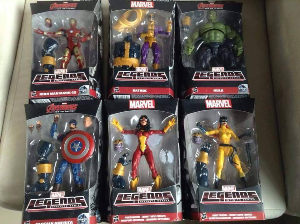 Marvel Legends Infinite Avengers Thanos BAF wave Carded