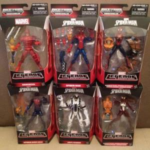 2015 Marvel Legends Spiderman Hobgoblin series (1)