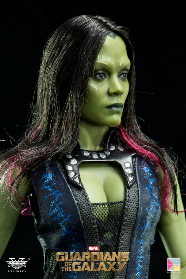 Guardians Of The Galaxy – Gamora Final Production Images