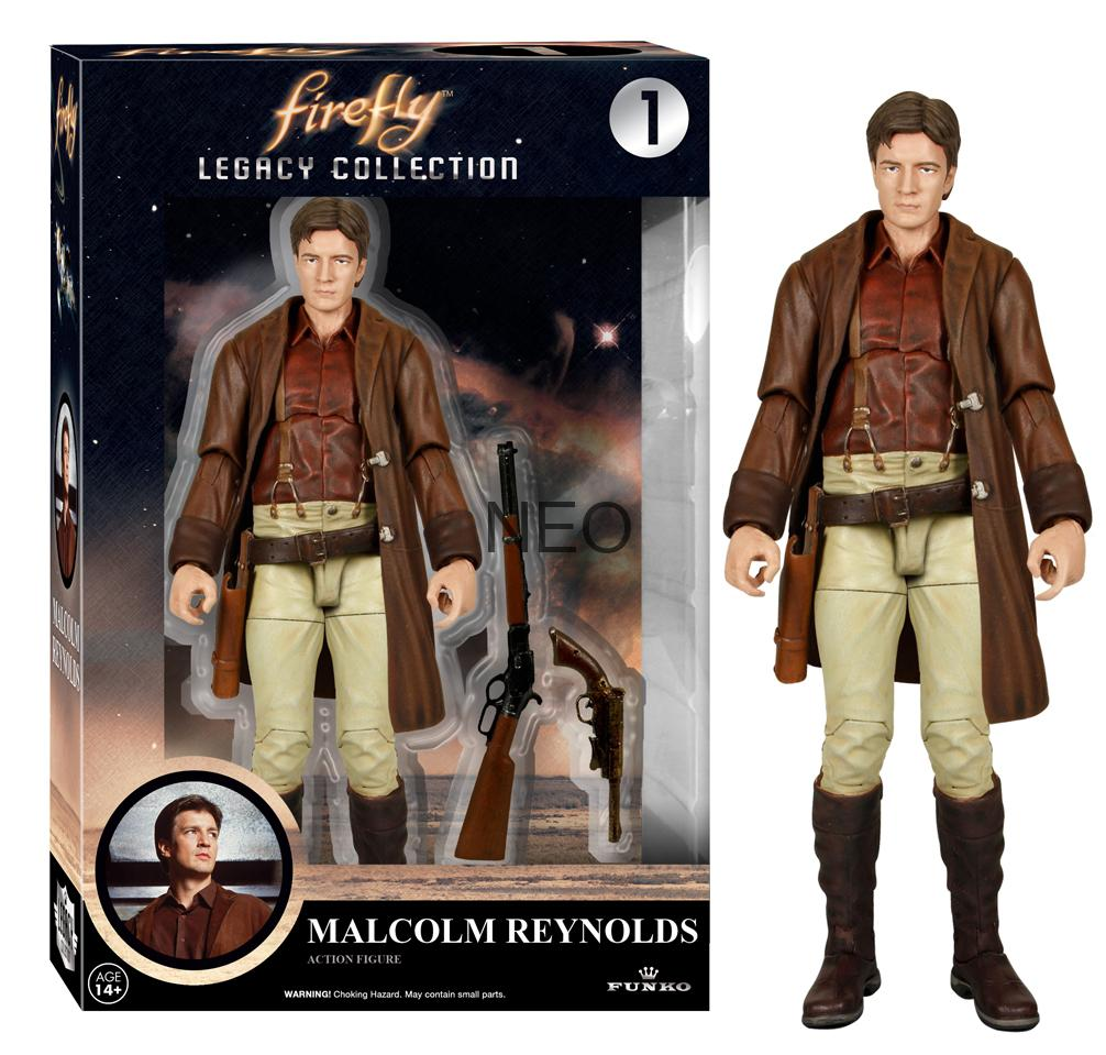 Funko Legacy Firefly and Rocketeer Action Figures High Res Images