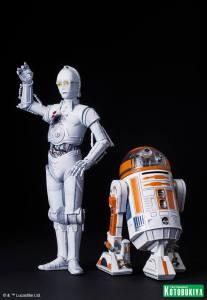 Star Wars R3-A2 & K-3PO ARTFX (6)