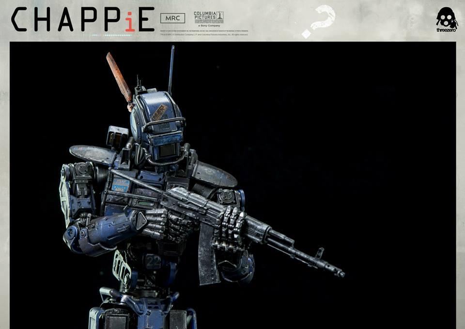 Threezero 1/6th scale Chappie Info and Gallery