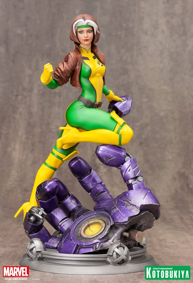 Marvel Rogue -Danger Room Sessions- Fine Art Statue