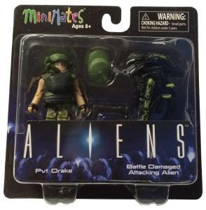 Aliens Minimates Drake 01